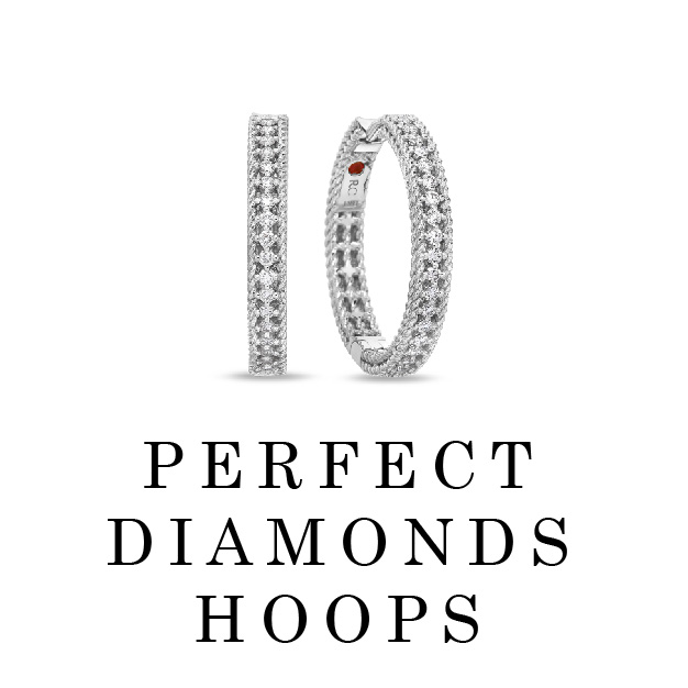 Perfect Diamonds Hoops